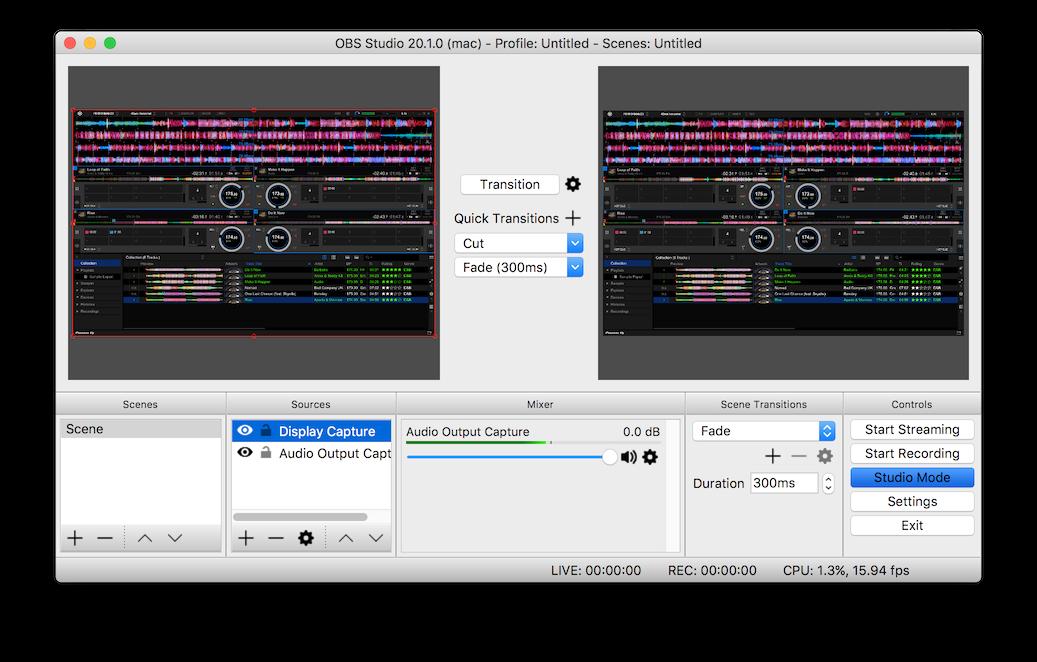 Streaming with OBS + DDJ-SB / SB2 / SR (Mac) – Pioneer DJ